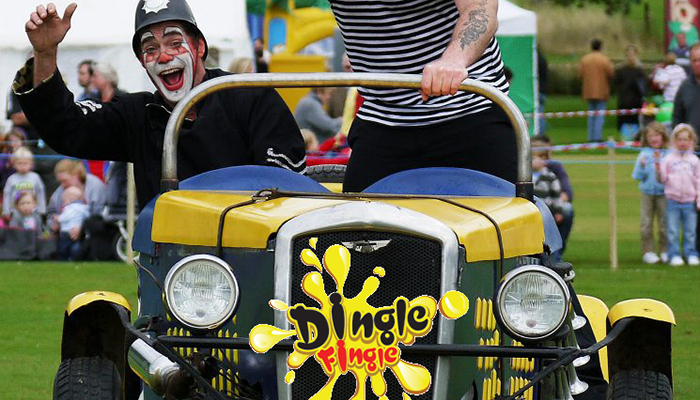 Dingle Fingle At Border Union Show!