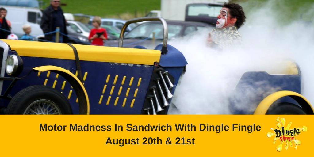 Motor Madness In Sandwich With Dingle Fingle