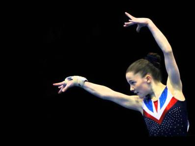 British Gymnast - Teal Grindle