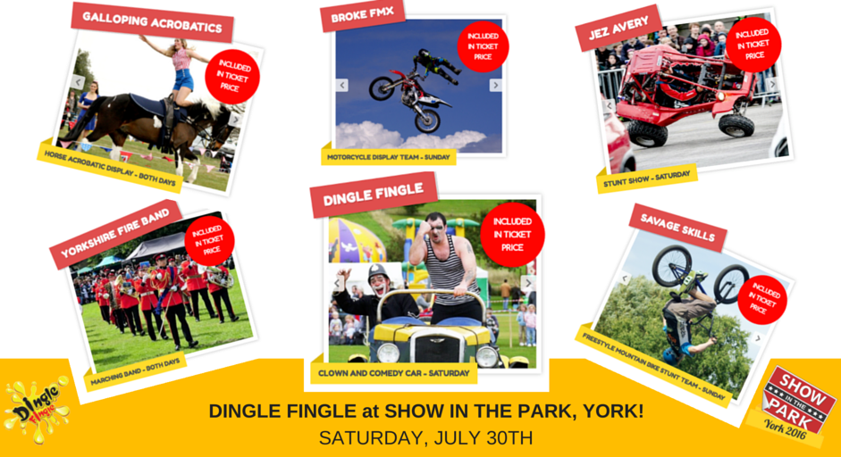 DINGLE FINGLE at SHOW IN THE PARK, YORK