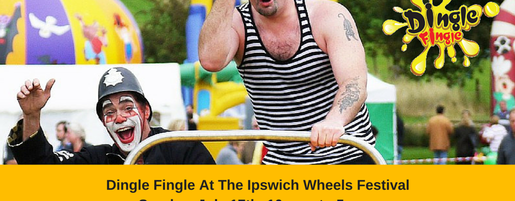 Dingle Fingle At The Ipswich Wheels Festival