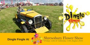 Dingle Fingle At The Shrewsbury Flower Show