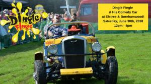 Comedy Car Goes to Elstree & Borehamwood